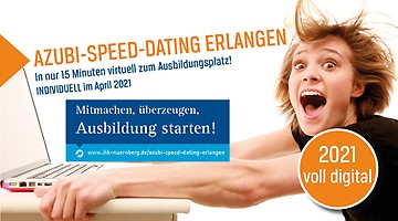 Azubi-Speed-Dating Erlangen 2020