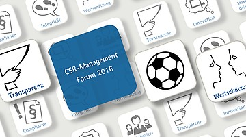 CSR-Management Forum am 6. Juli 2016