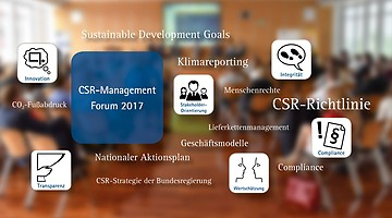 CSR-Management Forum am 21. Juli 2017